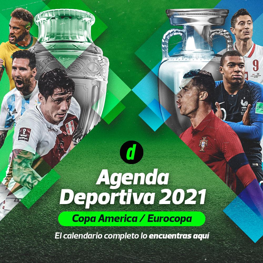 Agenda Deportiva: Copa América, Eurocopa 2021 y Copa Bicentenario