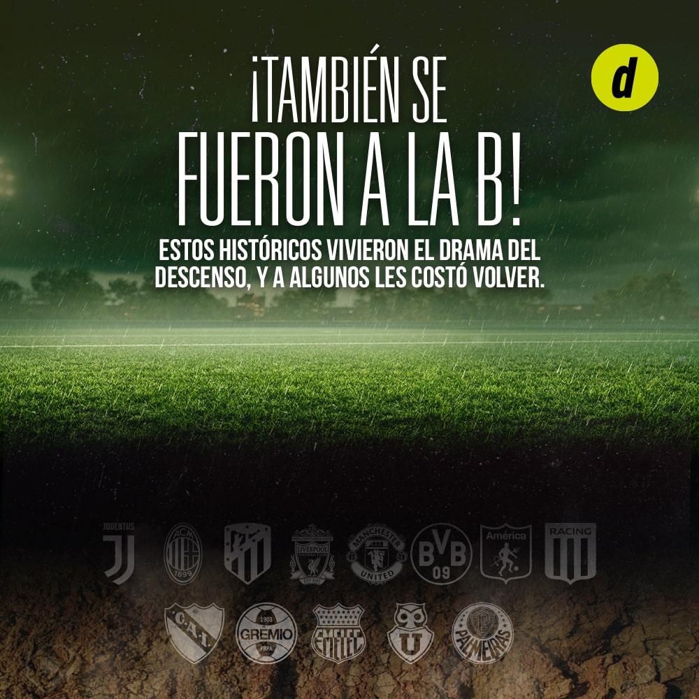 Alianza Lima y otros equipos grandes que descendieron