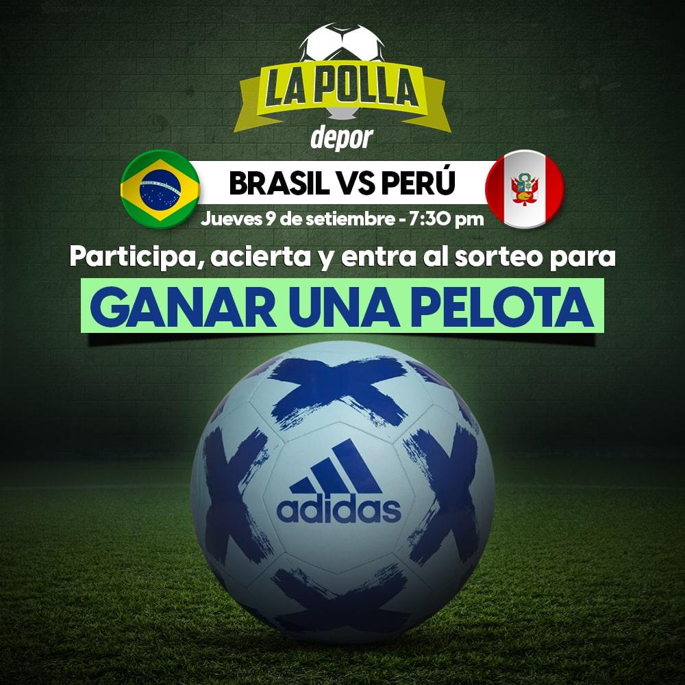 Polla Brasil vs. Perú