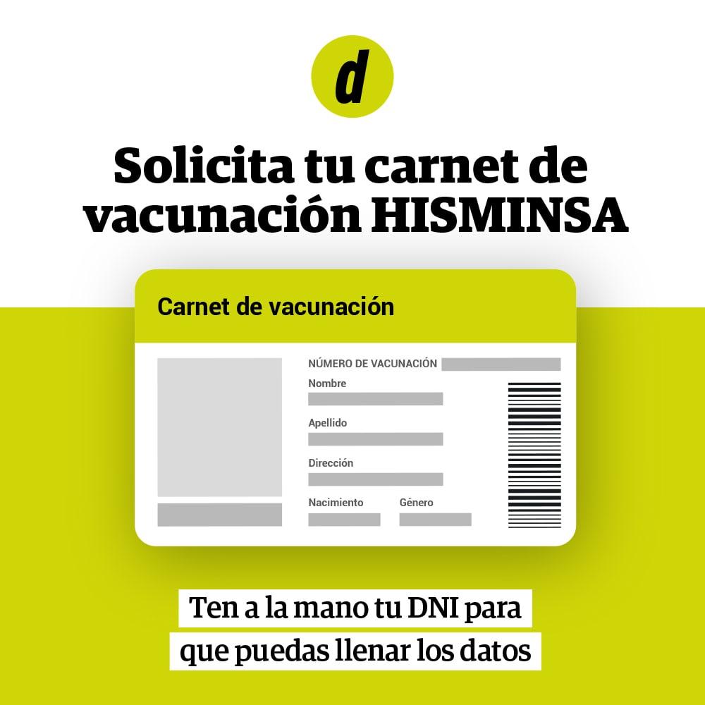Carnet de Vacunación Minsa cómo acceder con DNI al certificado de vacunación Hisminsa | pasos para obtenerlo requisitos y documentos a certificar tus vacunas COVID-19
