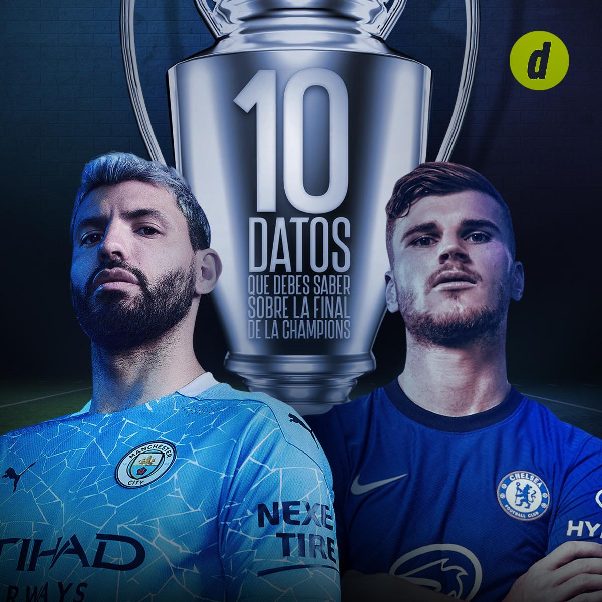 Champions League: 10 datos que debes saber sobre la final entre el Manchester City y el Chelsea