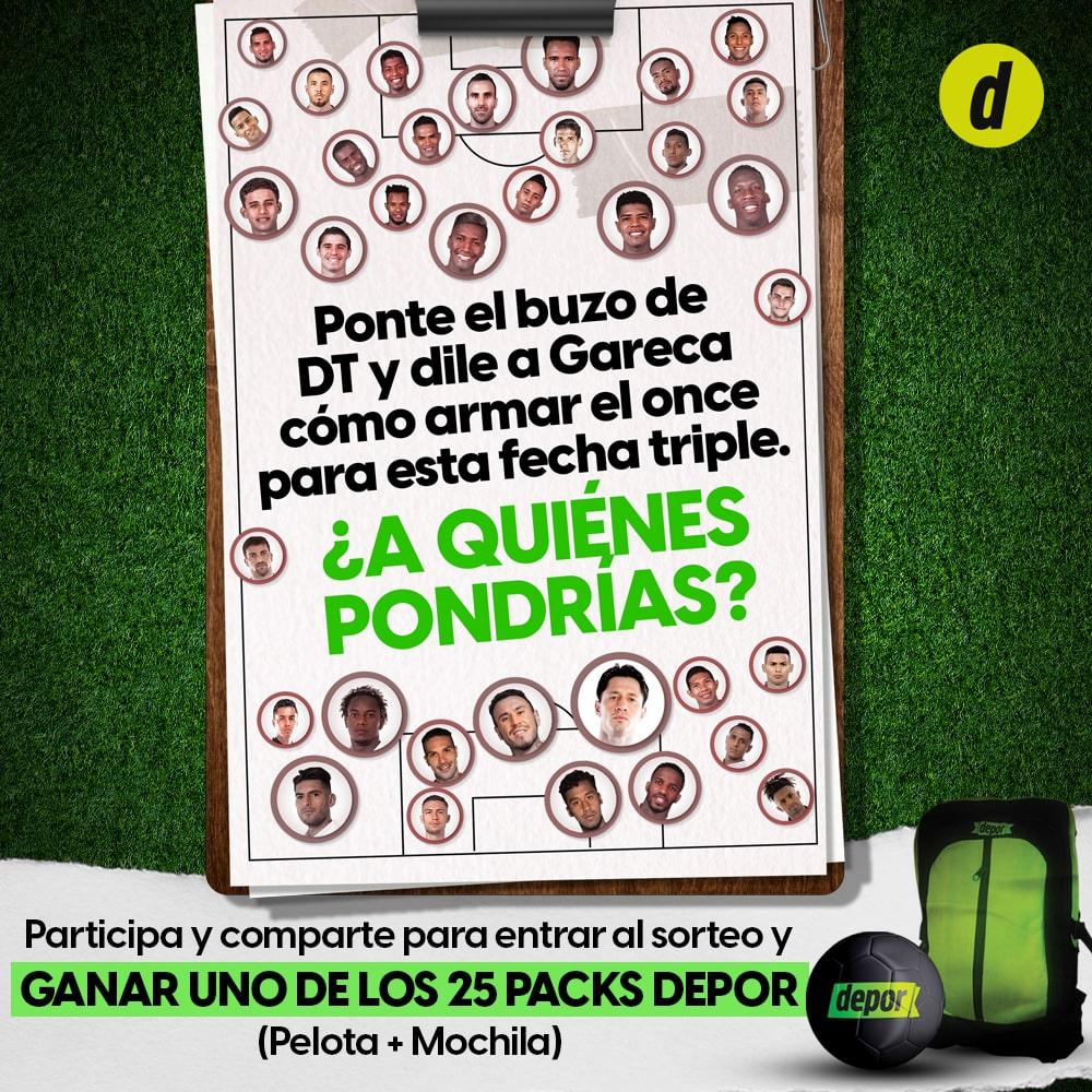 ¿Cómo armarías el once de la Selección Peruana ante Chile, Argentina y Bolivia?