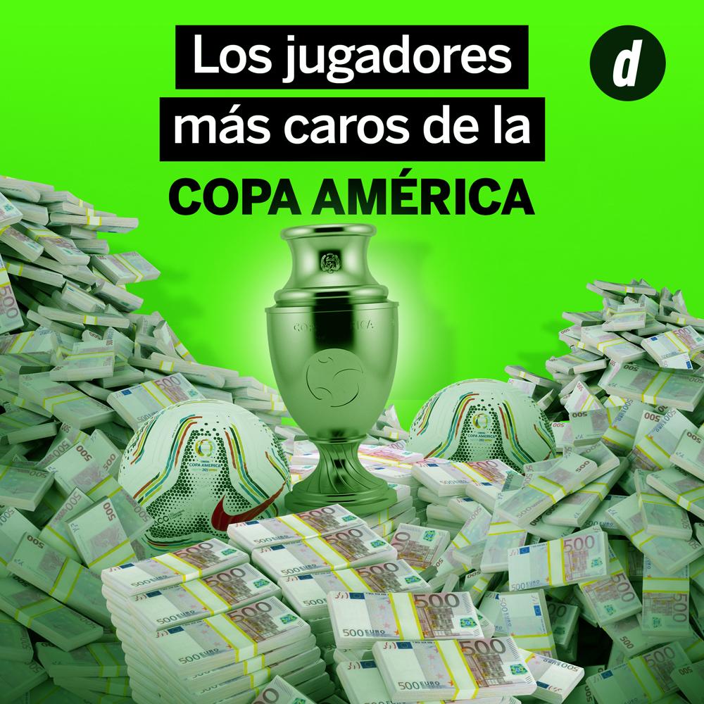 Copa América 2021: ¿cuáles son los jugadores más caros del campeonato?