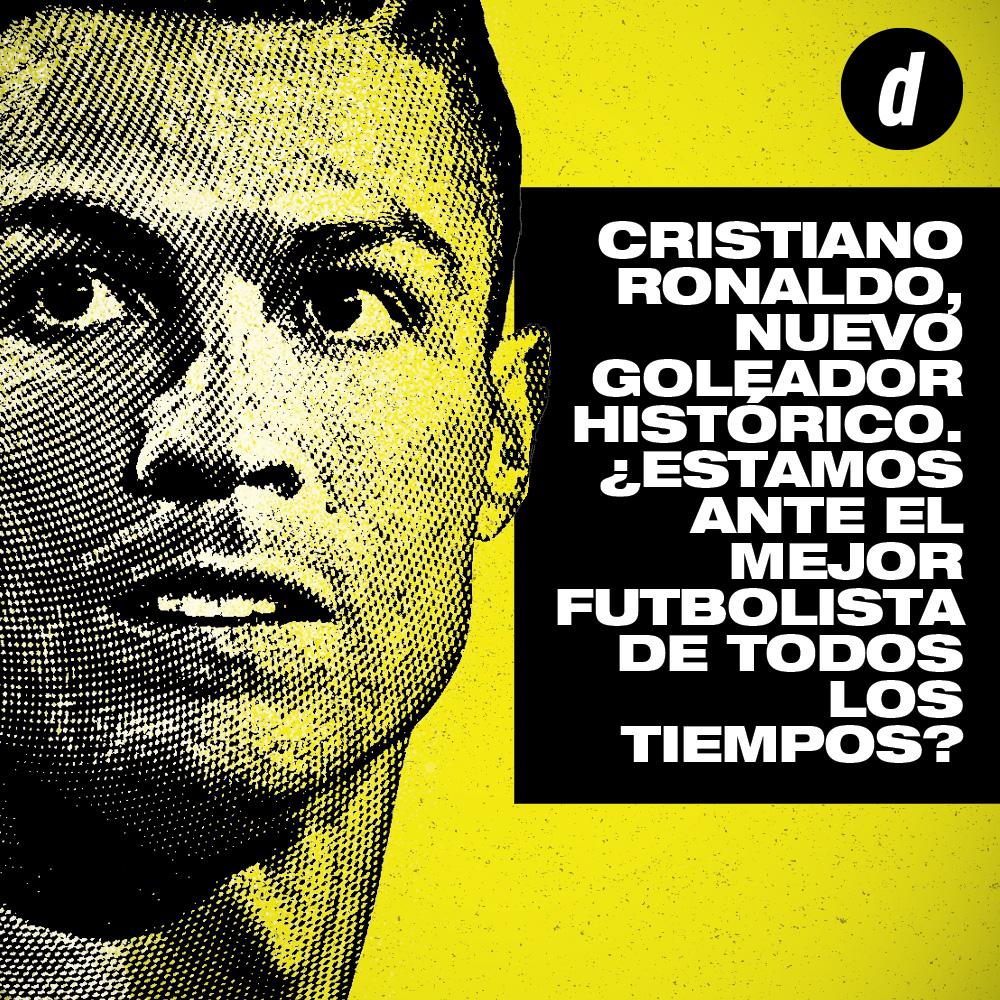 Cristiano Ronaldo goleador histórico