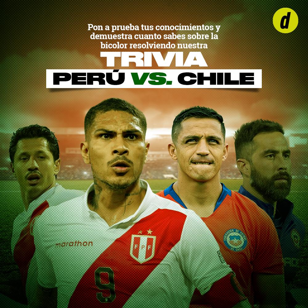 ¿Cuánto sabes de los partidos Perú-Chile?