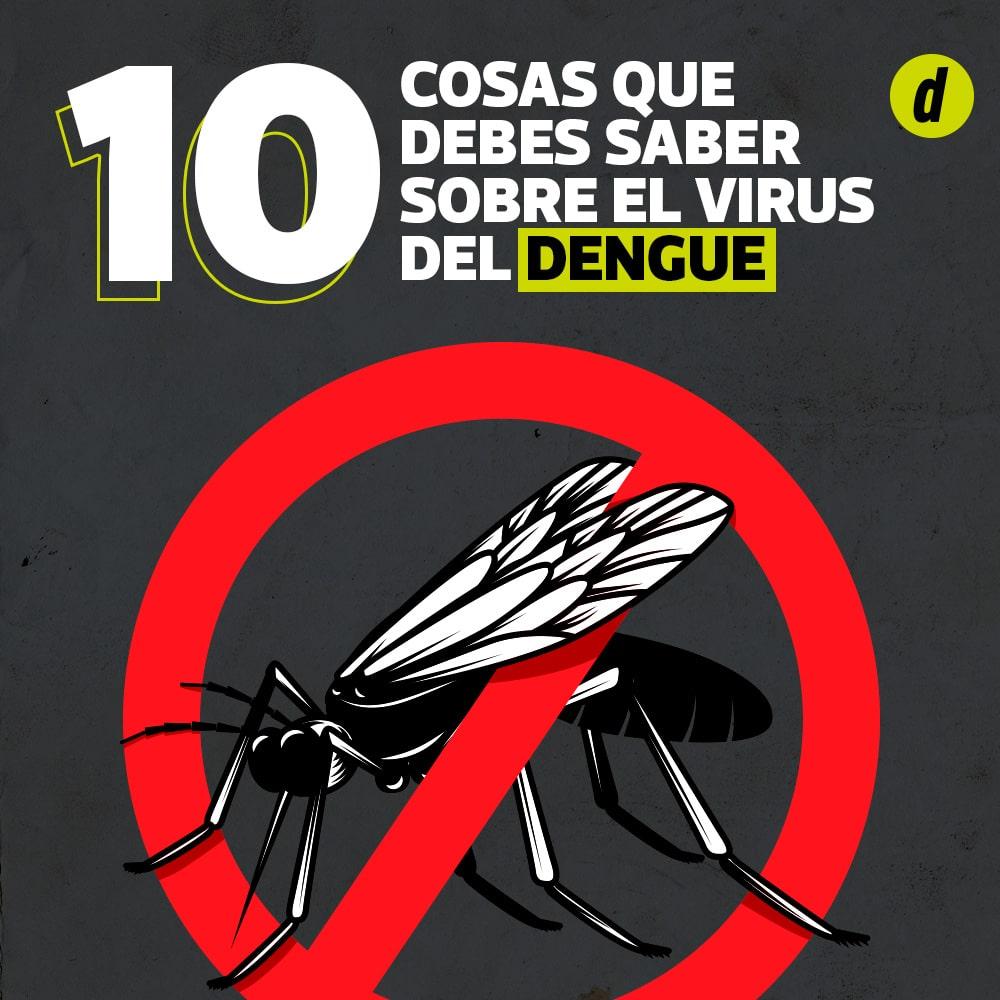 Dengue: 10 cosas que debes saber sobre el virus