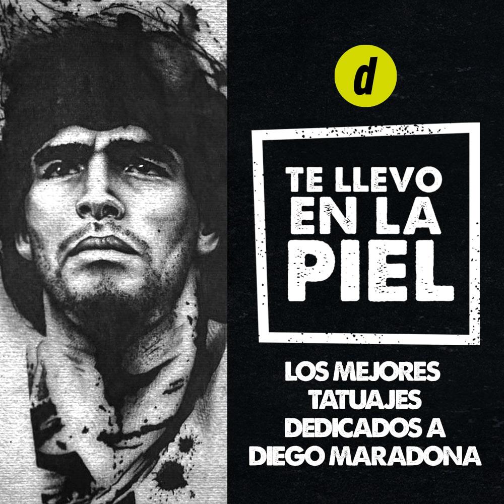 Diego Maradona: los mejores tatuajes dedicados al 'Diez'