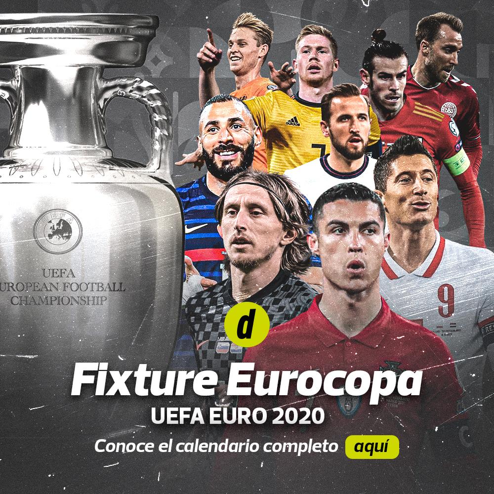Eurocopa 2021: este es el fixture oficial del campeonato europeo