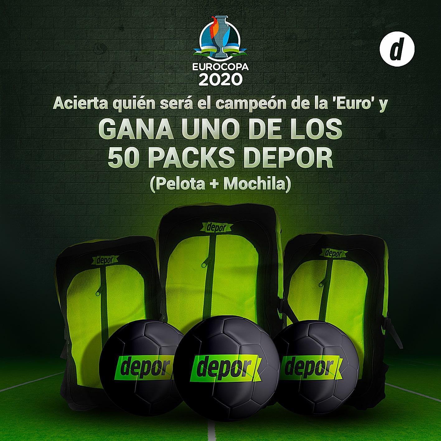 Eurocopa 2020 | Pronostica los resultados de los partido de la UEFA Euro 2020 y gana pelotas y mochilas | Eurocopa 2021