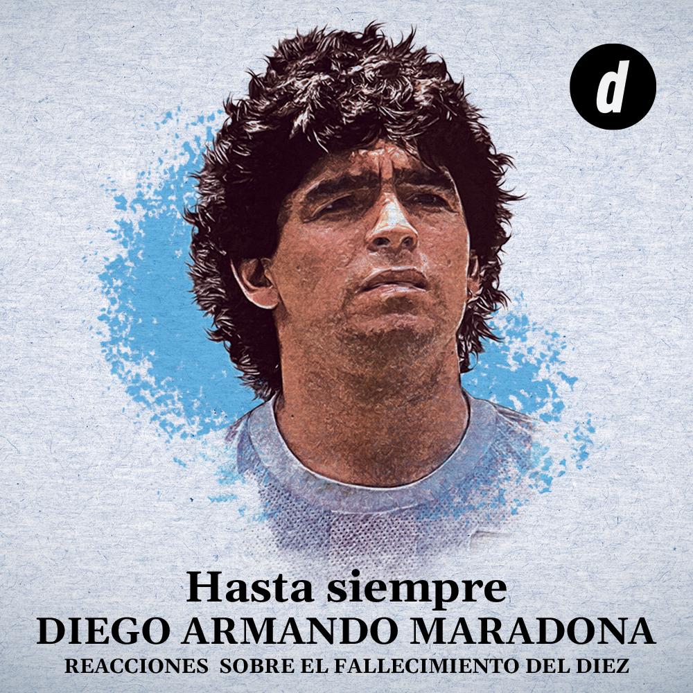 Hasta Siempre Diego Maradona
