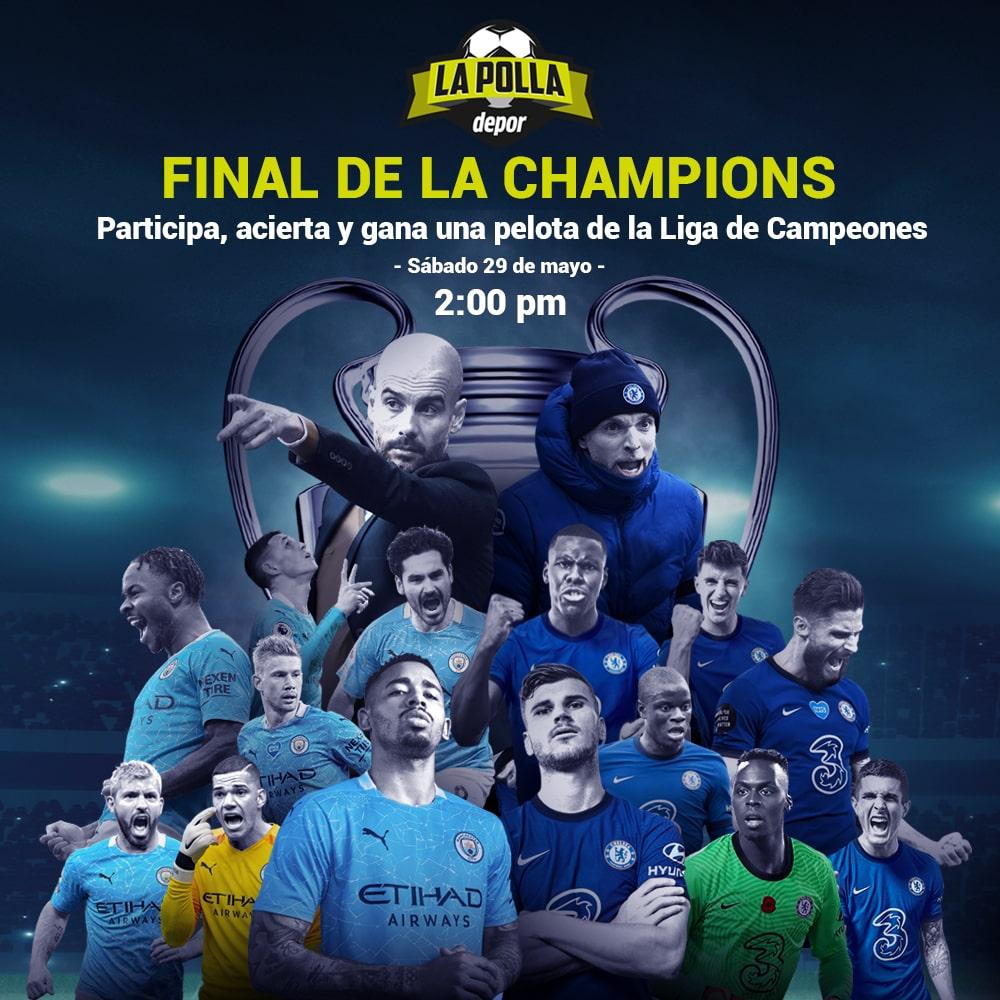 ¿Quién ganará la final de Champions? Manchester City vs Chelsea este sábado 29 de mayo