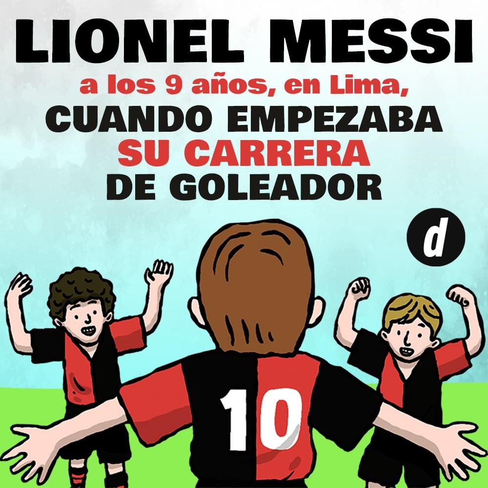 Lionel Messi: el inicio de su carrera goleadora en Lima