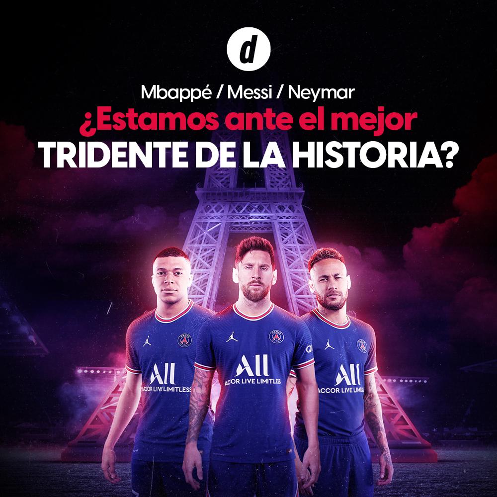 Lionel Messi: ¿es con Neymar y Mbappé el mejor tridente de la historia del fútbol?
