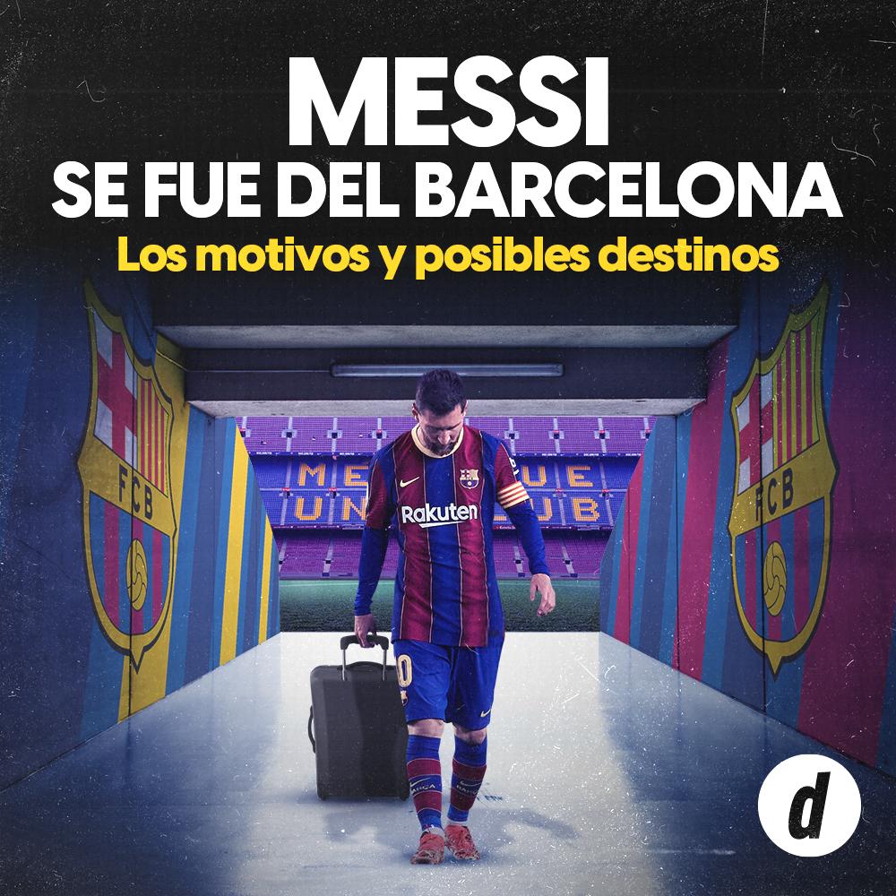 Lionel Messi deja el Barcelona: así lo anunció el Azulgrana en un comunicado oficial