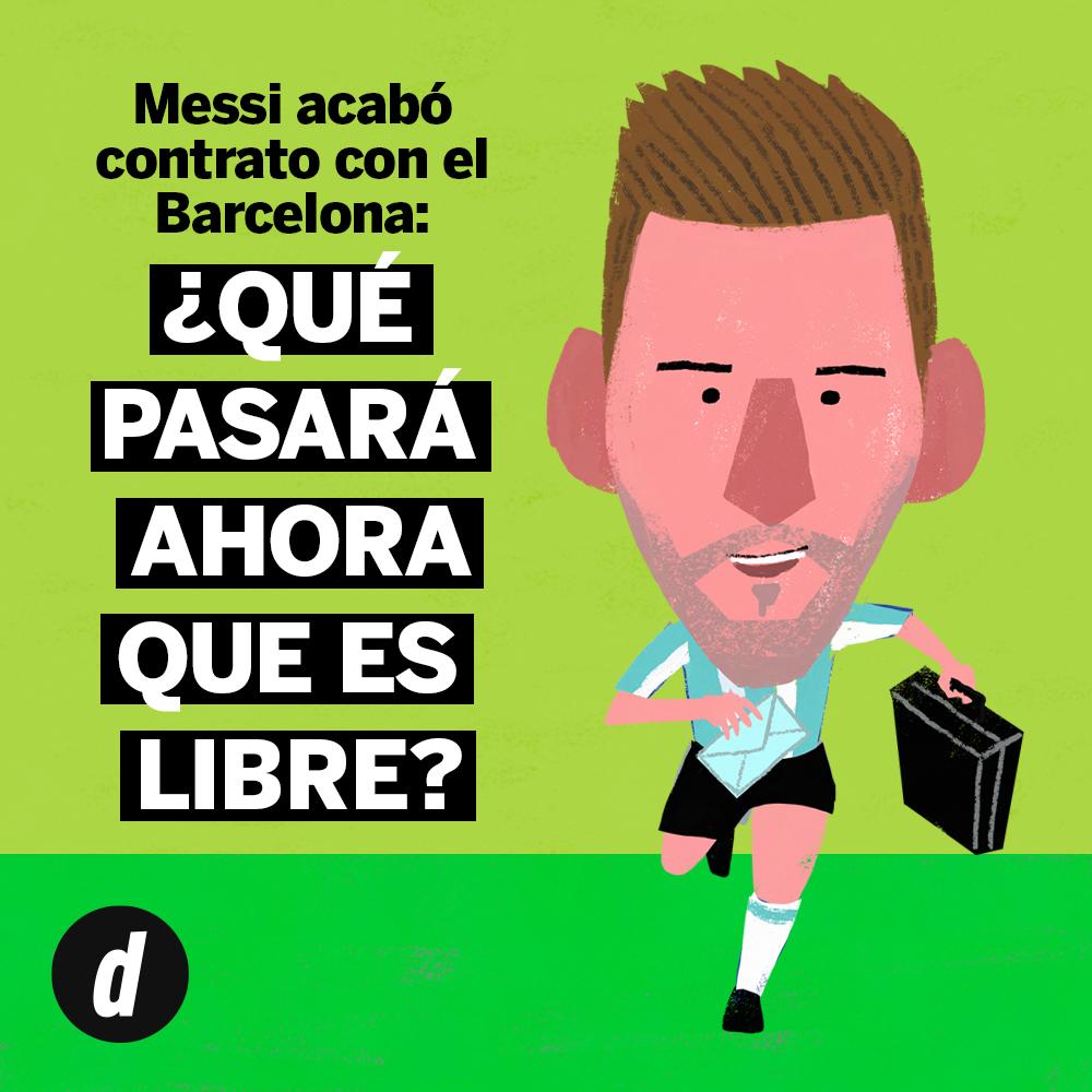 Lionel Messi acaba contrato con el FC Barcelona: desde hoy se convierte en agente libre | Azulgrama | La Liga | FIFA | España | Argentina