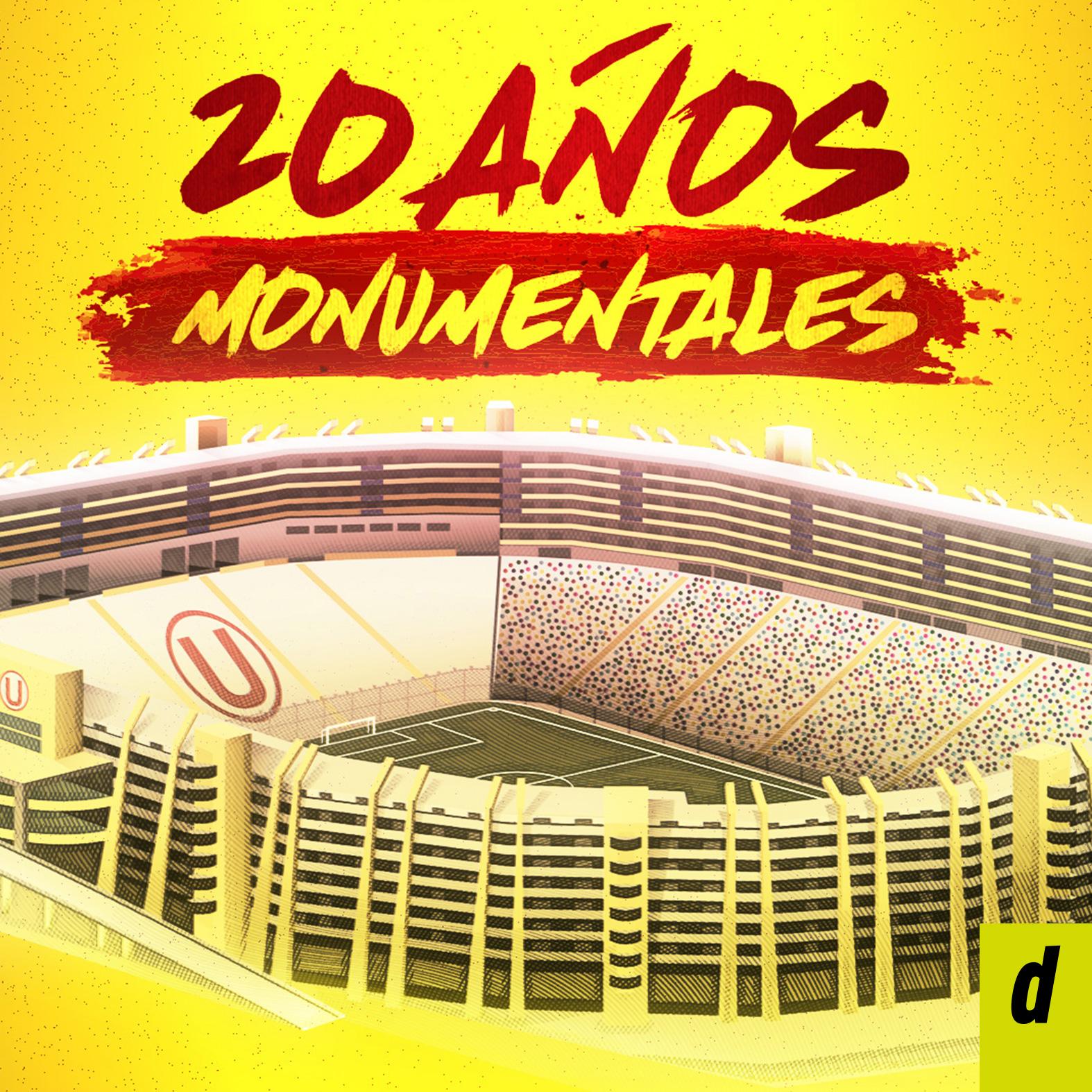 Los 20 años del estadio monumental