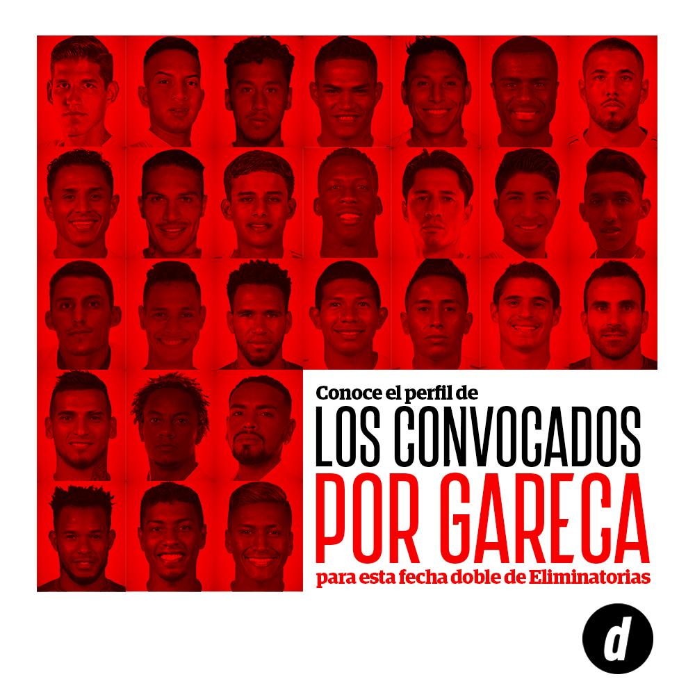 Perfil de los convocados de Gareca