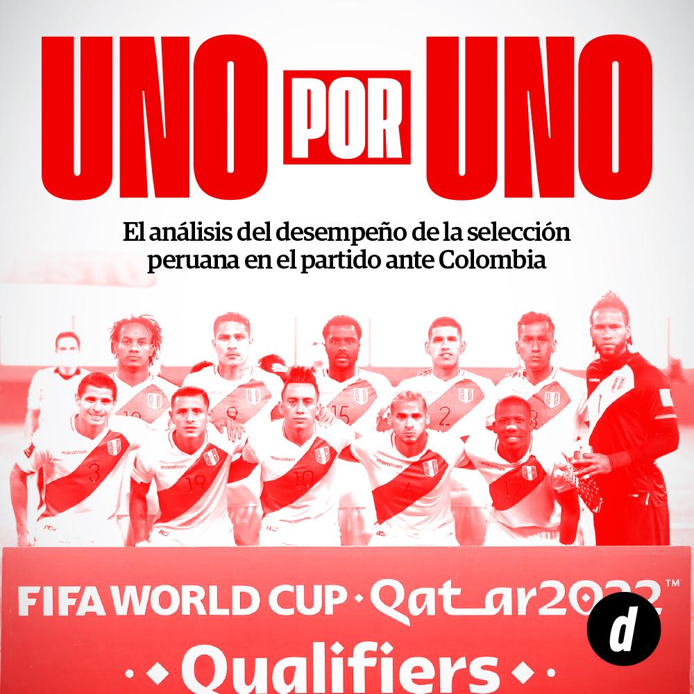 Peru vs Colombia: así fue el desempeño de la selección peruana en partido por Eliminatorias Qatar 2022