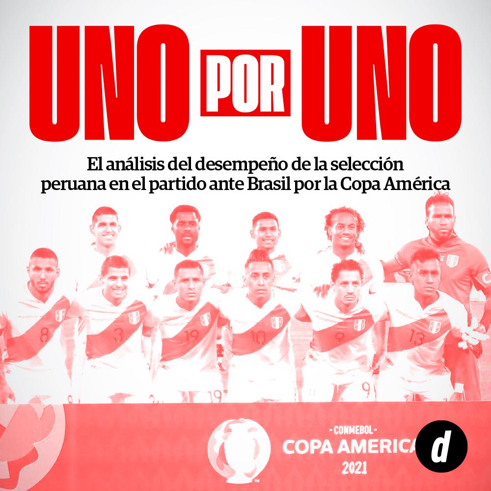 Perú vs. Brasil: Así vimos a los jugadores del partido por la Copa América 2021