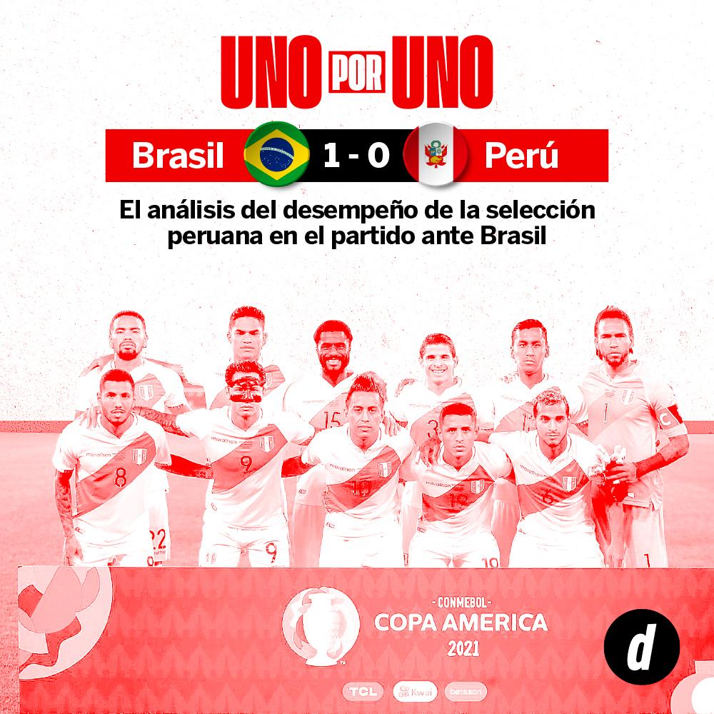 Perú vs. Brasil: así los vimos a los jugadores de la Selección Peruana