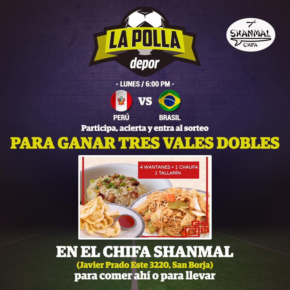 La Polla Perú vs Brasil