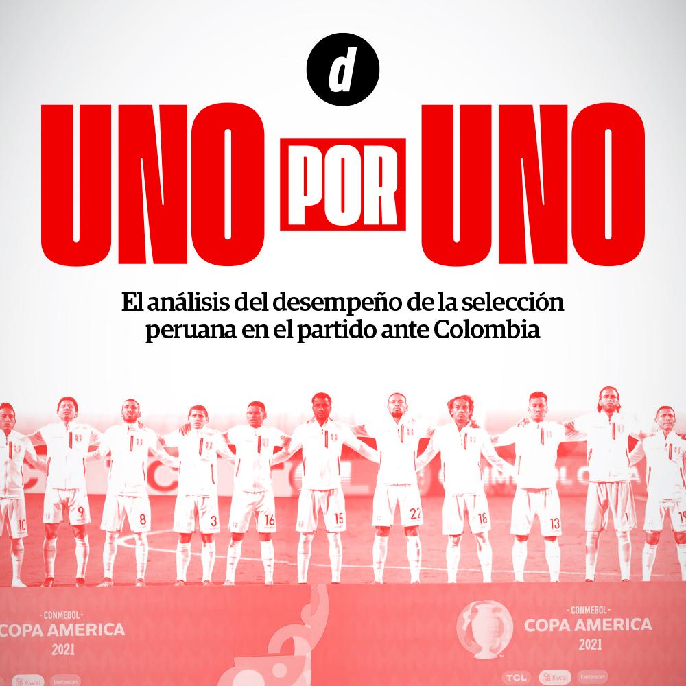 Perú vs. Colombia: Así vimos a los jugadores del partido por la Copa América 2021