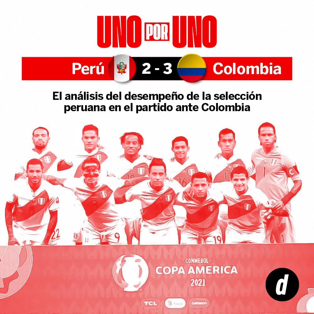 Perú vs. Colombia: así los vimos a los jugadores de la Selección Peruana