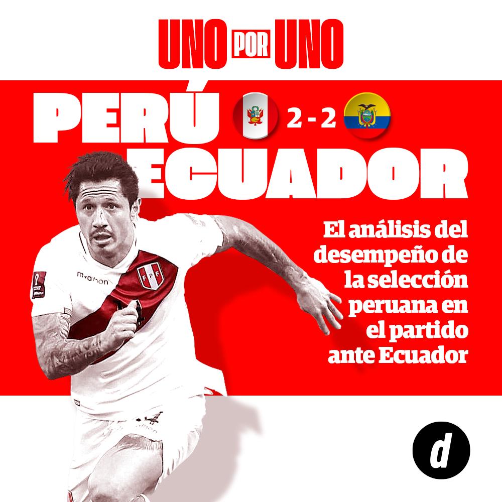 Perú vs. Ecuador: Así vimos a los jugadores del partido por la Copa América 2021