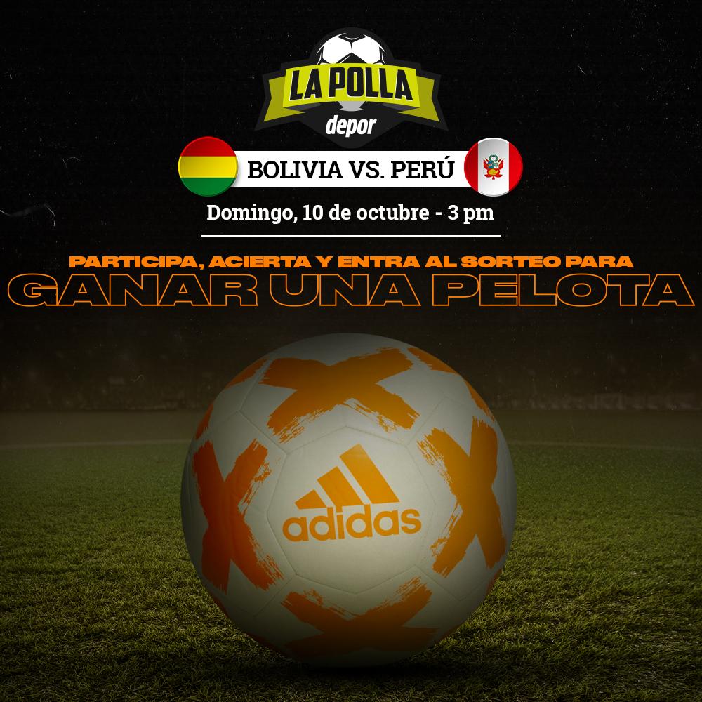 Polla Eliminatorias Qatar 2022 Bolivia vs. Perú