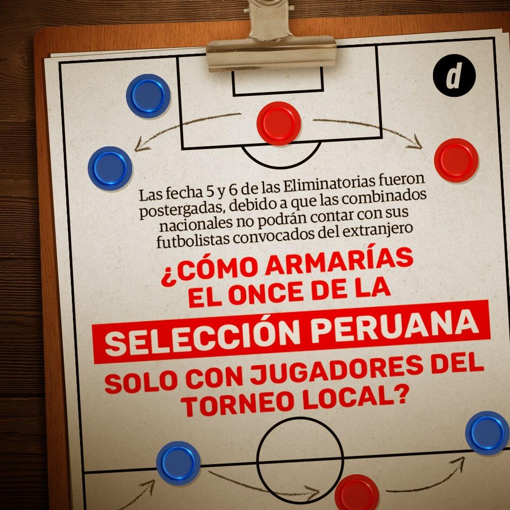 Selección peruana: Elige tu once bicolor del Torneo Local