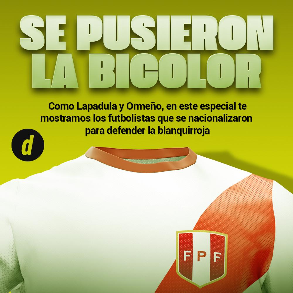 Selección Peruana: todos los extranjeros que pasaron por la 'bicolor'