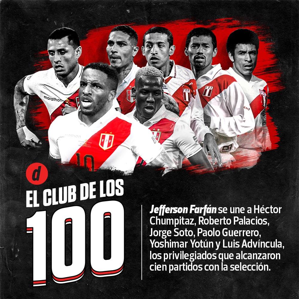 Selección Peruana: Luis Advíncula llega a los 100 partidos con la camiseta bicolor