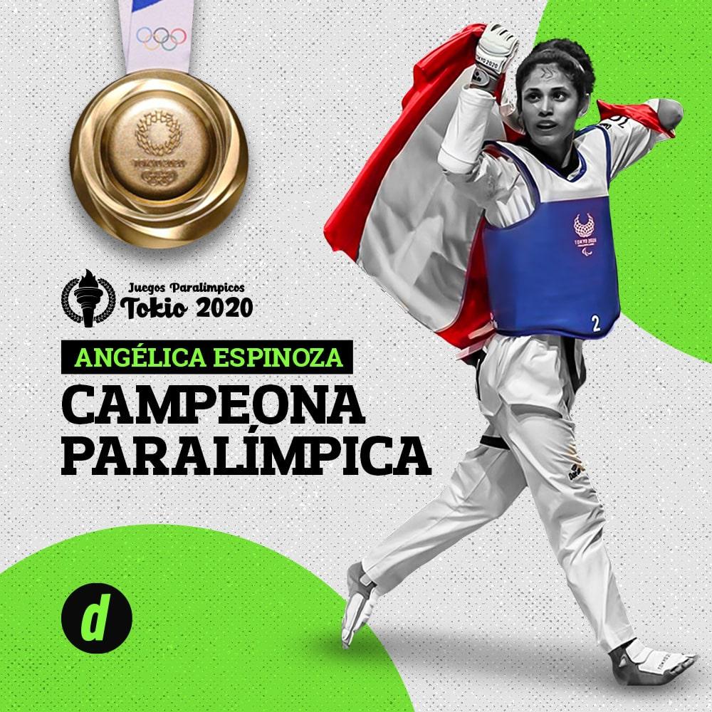 Tokio 2020: conoce a Angélica Espinoza, la peruana campeona en Taekwondo Paralímpico