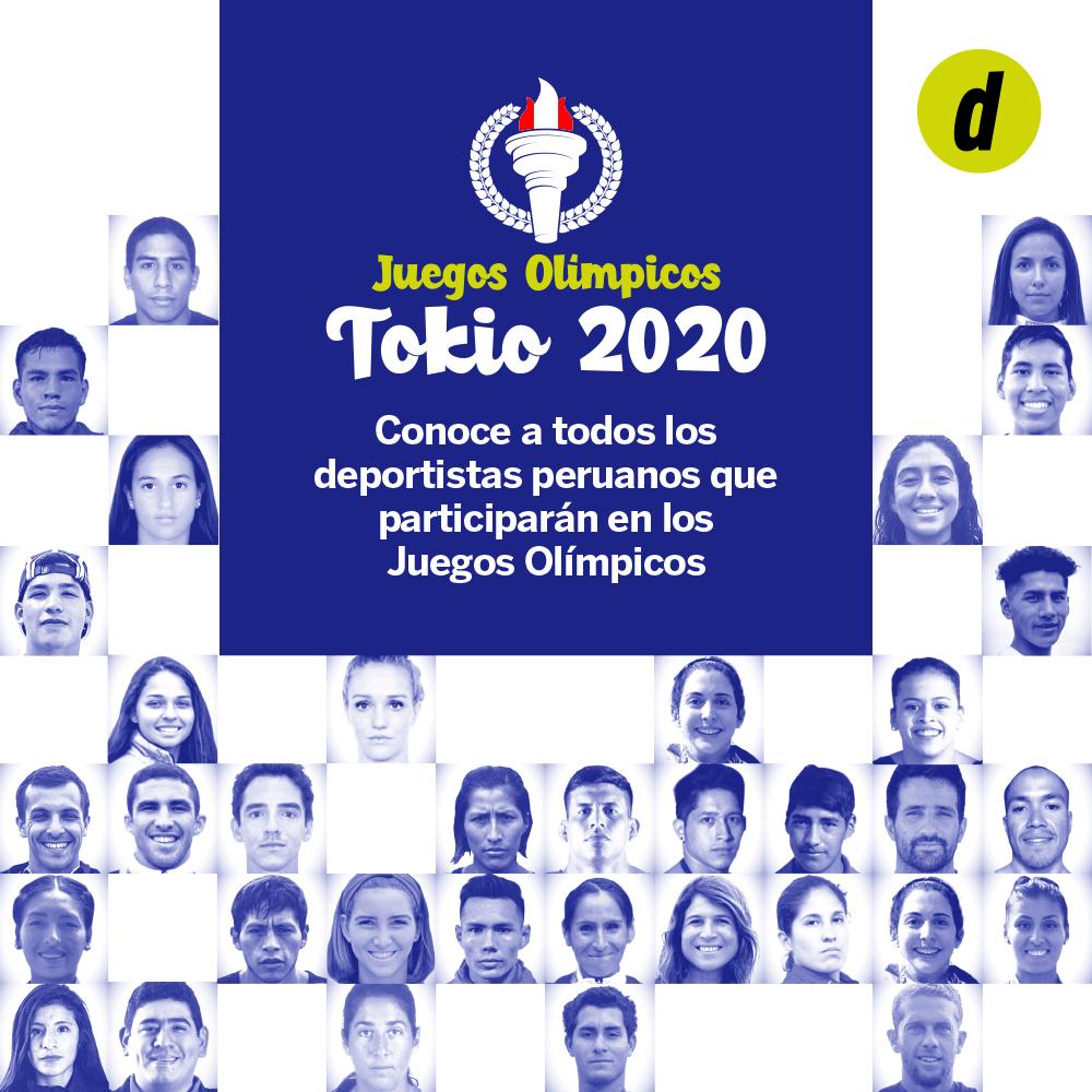 Deportistas peruanos que participarán en Tokio 2020