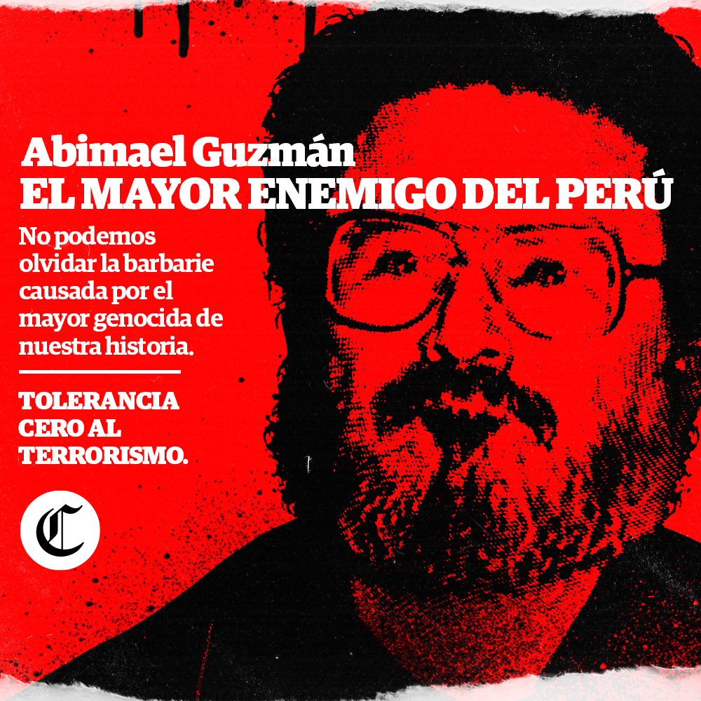 Abimael Guzmán, el mayor enemigo del Perú   El Comercio Perú