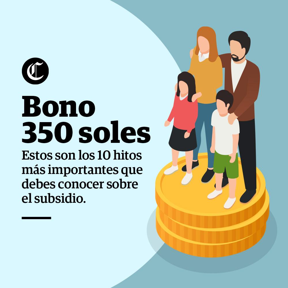 Bono 350 soles