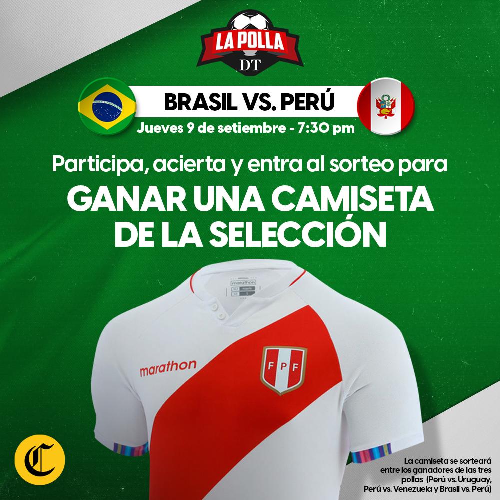 Polla - Perú vs Brasil