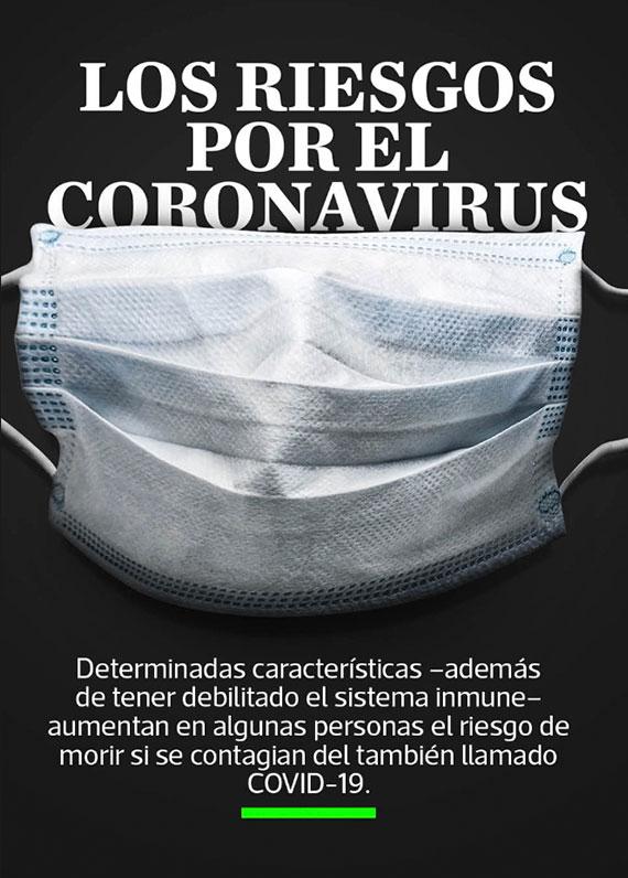 Los riesgos por el Coronavirus