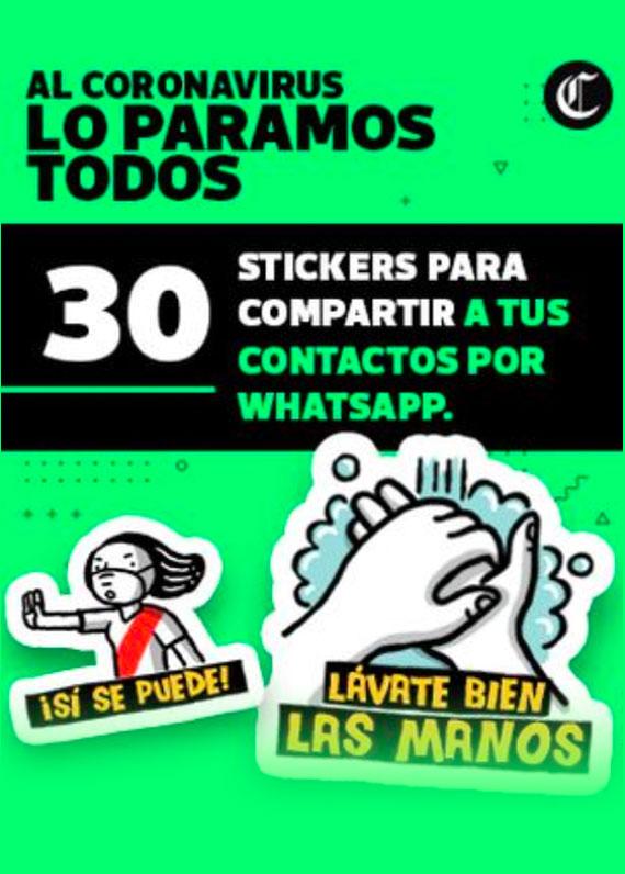 stickers coronavirus