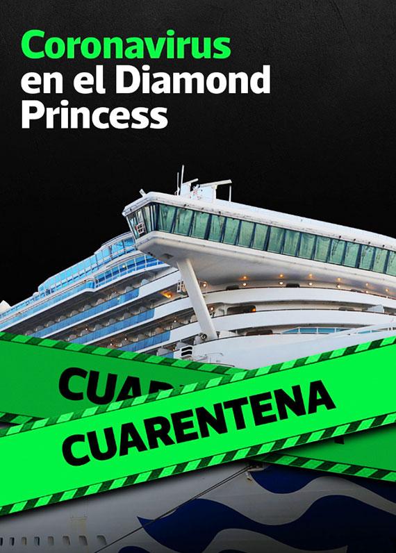 Coronavirus en el Diamond Princess