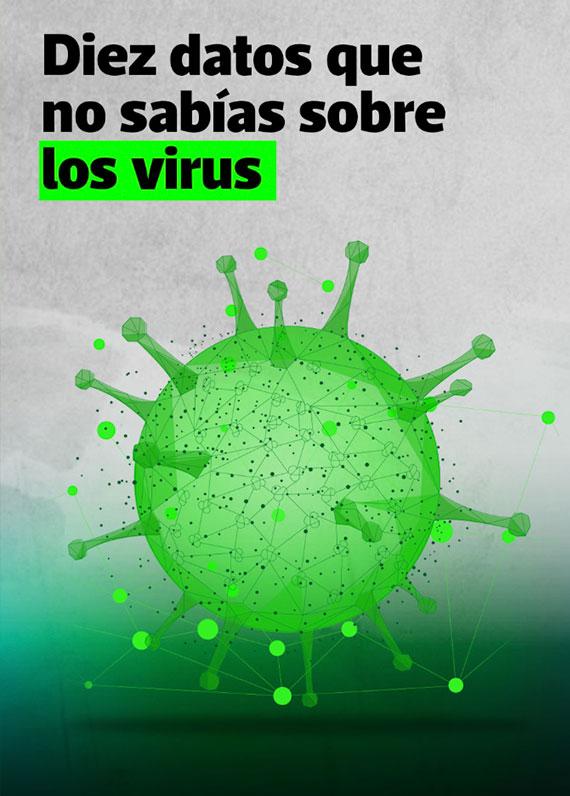 Diez datos que no sabías sobre los virus