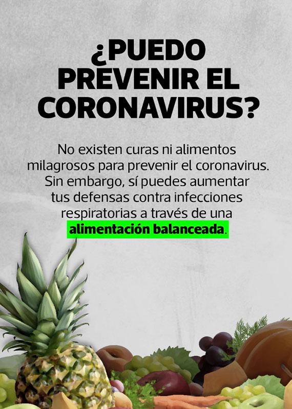 ¿Puedo prevenir el coronavirus?