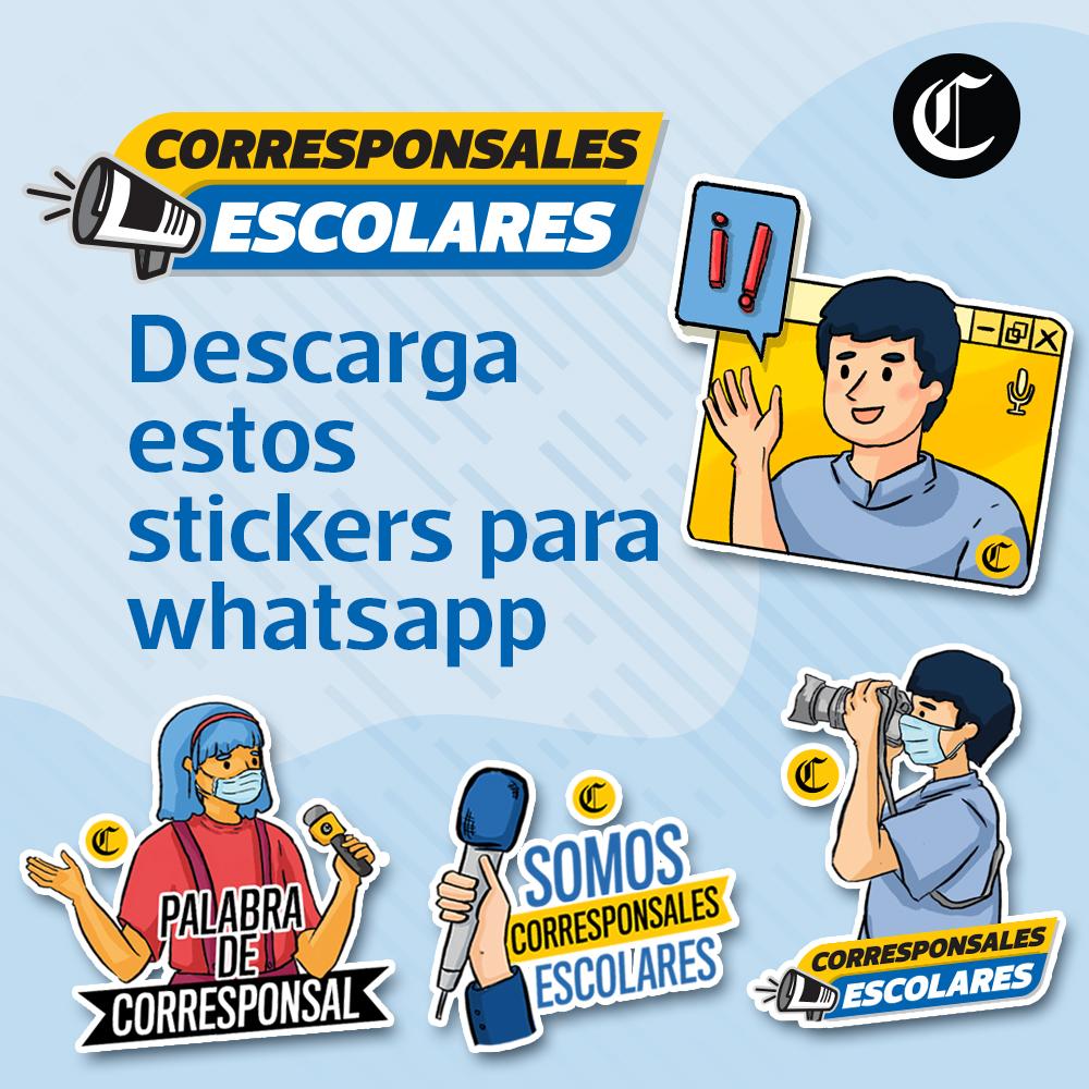 Stickers corresponsales escolares