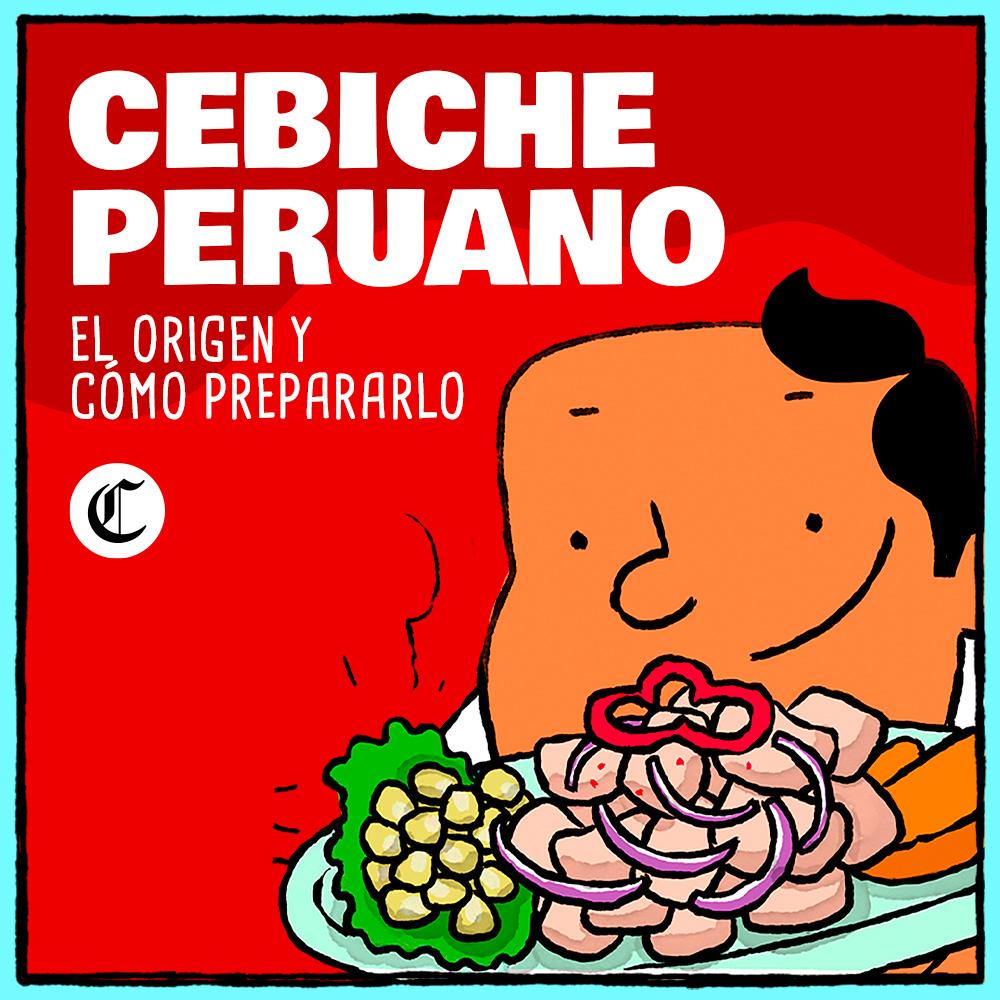 ¿Cuál es el origen del cebiche peruano?
