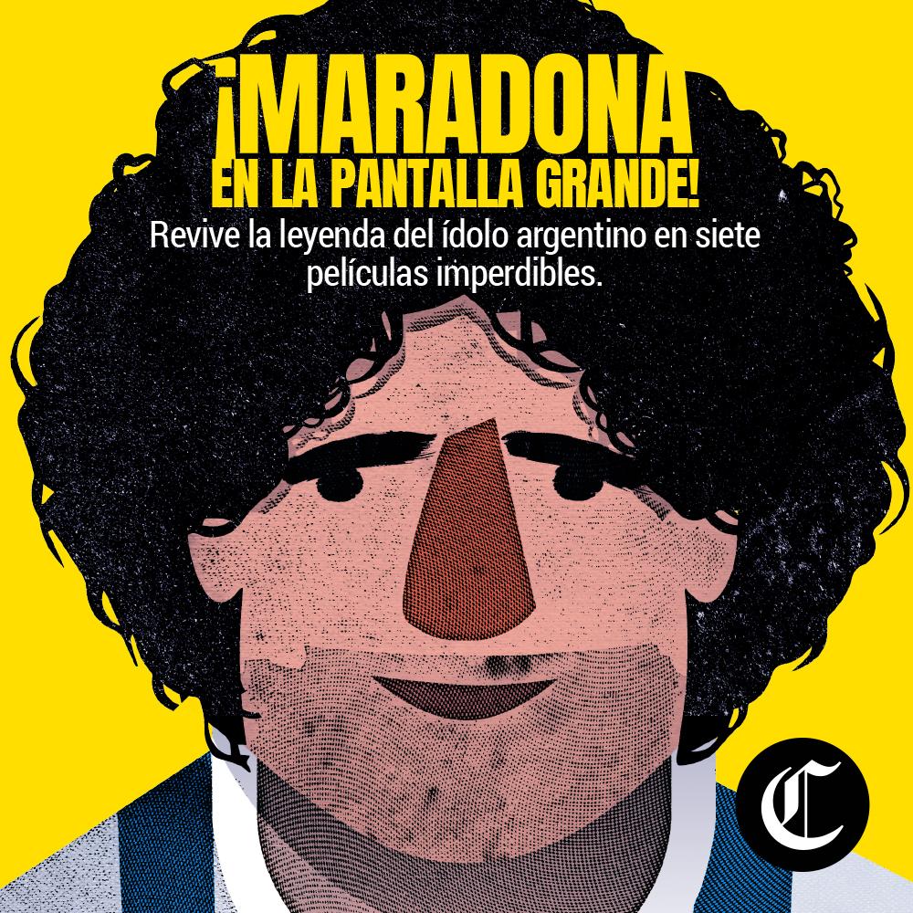 Diego Armando Maradona en la pantalla grande