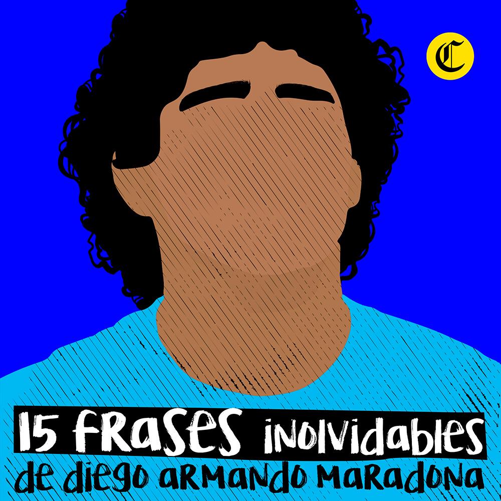 Frases para recordar a Maradona