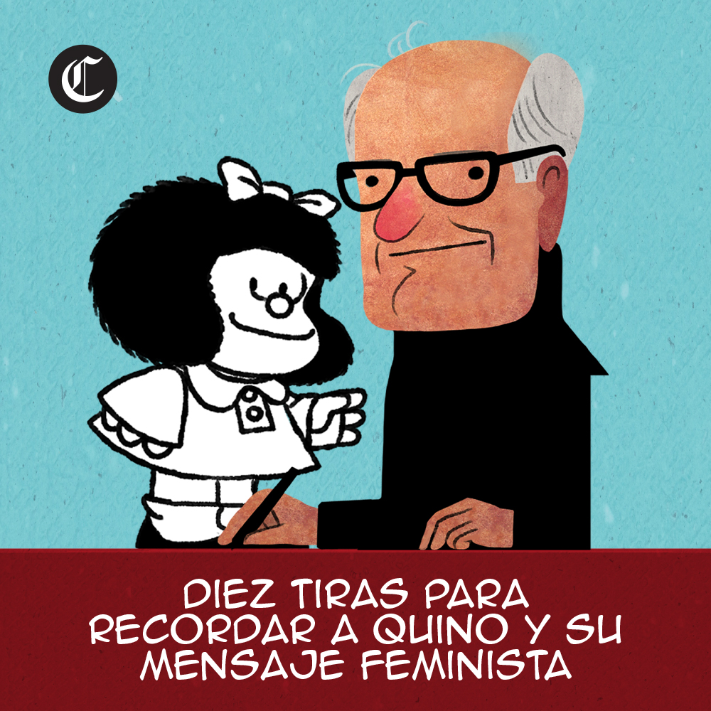 Diez tiras para recordad a Quino