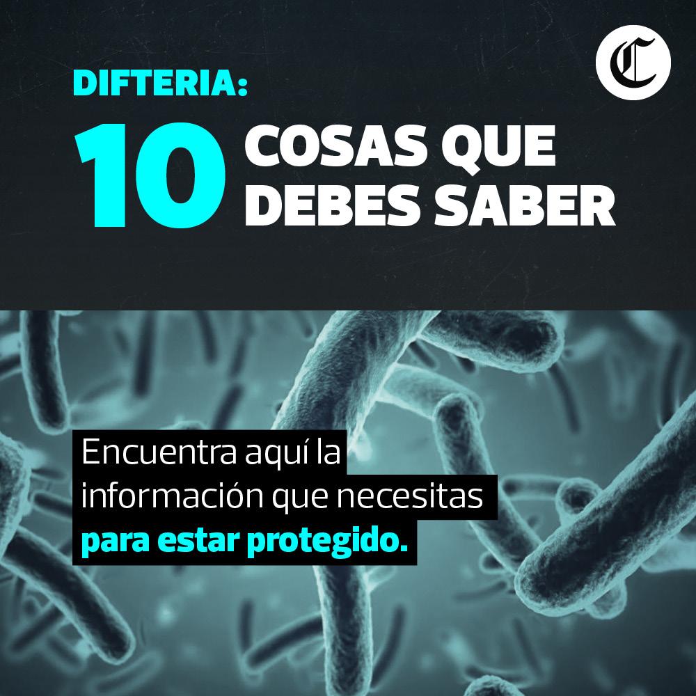 10 cosas sobre la difteria