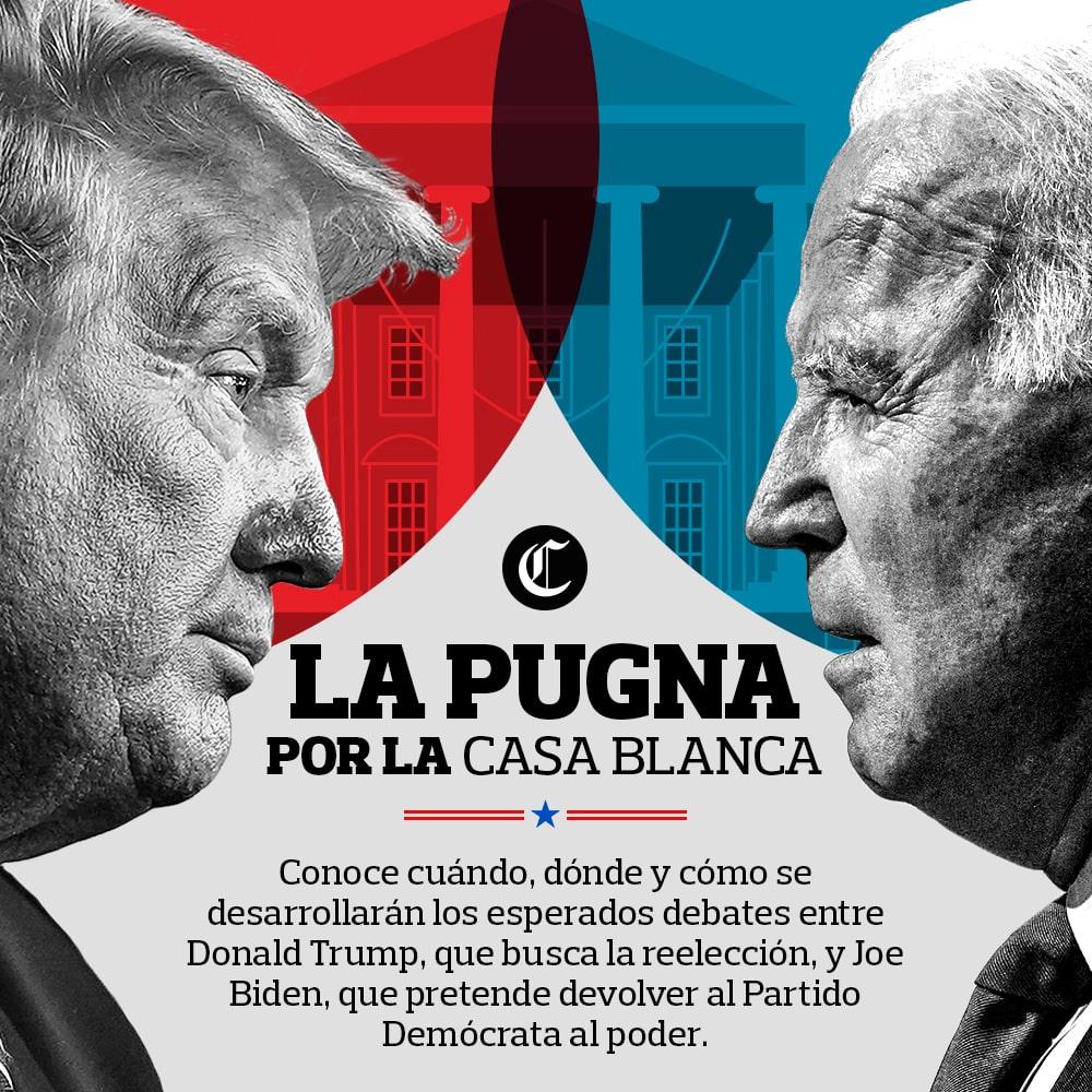Donald Trump vs Jose Biden - Elecciones Estados Unidos 2020