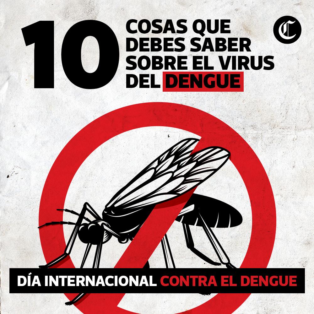 El Dengue: 10 cosas que debes saber sobre el virus